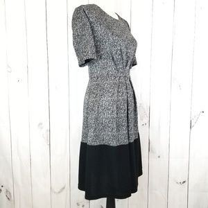 41 Hawthorn Dresses - 41 Hawthorn Gray and Black Color Block Dress